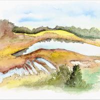 Lac-tourbière de Lacoste, Cros (63)