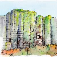 Orgues basaltiques, La Tour d'Auvergne (63)