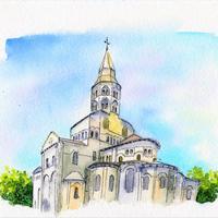 Basilique Notre-Dame d'Orcival, France