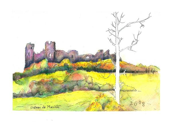 Mauzun castle