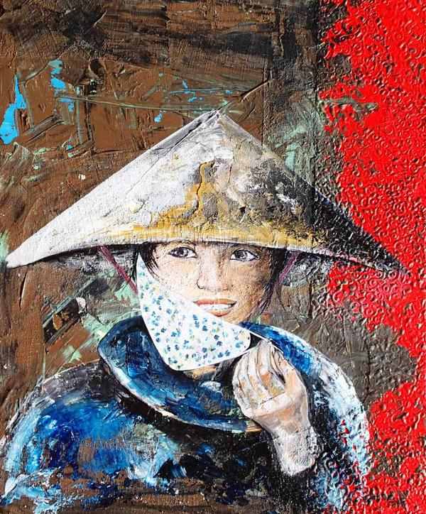 The Vietnamese lady