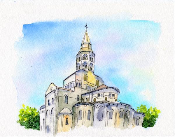 Basilique Notre-Dame d'Orcival (63)