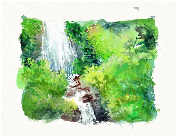 Cascade de la Graille, Perpezat (63)